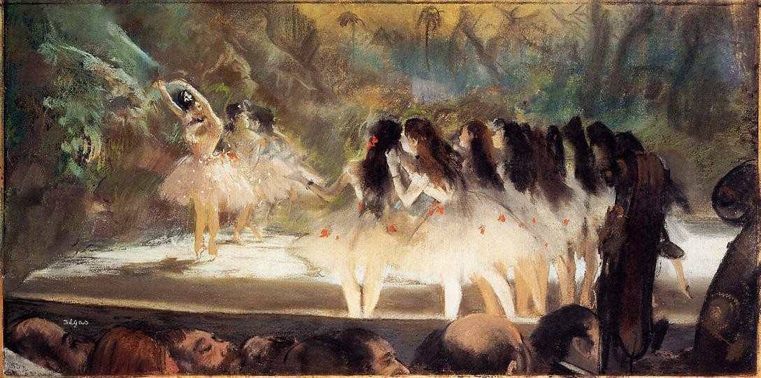 Ballet at the Paris Opera, 1877, Edgar Degas
